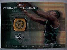 02-03 UD Hardcourt Game Floor # PP-F PAUL PIERCE , CELTICS !!! BOX # 33
