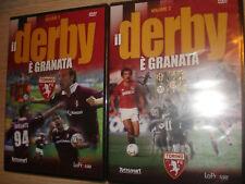 OPERA COMPLETA IN 2 DVD IL DERBY E' GRANATA TORINO VS JUVENTUS TORO CALCIO