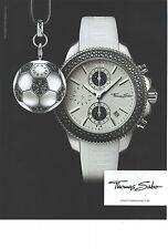 PUBLICITE ADVERTISING  2010  THOMAS SABO montre porte clefs assorti140912