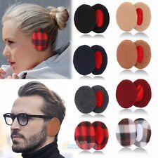 4 Pair Adult Women Men Winter Earbags Bandless Ear Warmers Earmuffs Ear Cover US