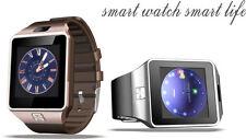 Dz09 Single Sim Smart Watch Phone per ANDROID FOTOCAMERA/Dialer/sonno Monitoraggio