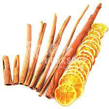 8cm 15cm 25cm 30cm 40cm Palos de canela y Naranja Rodajas Corona De Artesanía Decoración