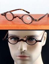 Designer Small Round Oval Retro Vintage Eyeglasses Reading Glasses CE +1 +2 +3