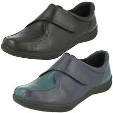 Ladies K's By Clarks Strap Fastening Shoes Etna Oak
