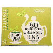 Clipper Tea Bags Organic Everyday Tea 80 Bags