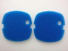 2 X Sunsun Hw-302 Filtro Externo de medios de comunicación Azul Gruesa Filtro de espuma almohadillas