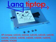 HP nc6110 nx6110 nc6120 nx6120 nx6130 nc6140 nc6220 nc6230 quadro dischi rigidi