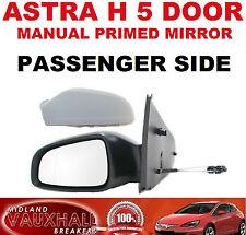 Vauxhall ASTRA H manuale MOTO 5 Porta Ala Specchio Passeggero Lato Vicino CLUB il CDTI