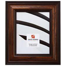 "Craig Frames 2.5"" Potomac, American Dark Walnut Picture Frames & Poster Frames"