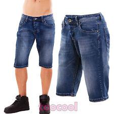 pantalones cortos vaqueros de hombre shorts denim bermudas casual nuevo RS-H145