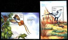Liberia, MNH, Birds: Asian Paradise, Secretarybird. 2001. x8139