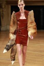 "*Real Fox Fur Tail Tassel Luxury HandBag Charm Key Chain 22"" $199 NWT Great Gift"