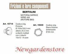 Clutch disc sintered motor mower series 408 B&S BERTOLINI 15714 15630