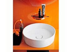 Kartell by Laufen countertop basins white round basin 8.1233.1.000