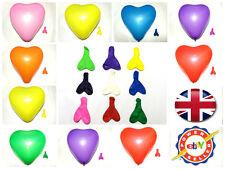 """10"""" grande Cuore in Lattice Palloncini Festa ogni occasione Baloons Heavy Duty Palloncini"""