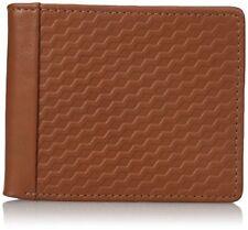 Buxton Men's Bellamy RFID Blocking Leather Front Pocket Slim Wallet