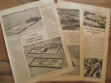 Article Perou monde disparu, fontaine de Jouvence,1937