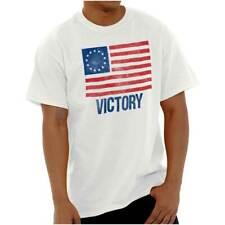 Victory Betsy Ross American Flag Patriotic US Mens T-Shirts T Shirts Tees Tshirt