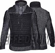 Maglione Uomo Pullover Collo Alto Maglia Felpa Pull Effe Denim Nuovo 5028