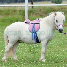 Sella per Cavallo Pony o Shetland - con maniglia per bambini