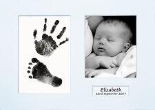 Personalized Newborn Hand Print Footprint Kits Baby Shower Gift Christening Idea