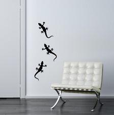Pegatina de muro: 3x Gecko versículo. tamaños-Gekko el lagarto pasillo salón murales
