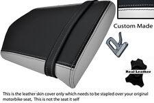 Blanco Y Negro Custom 00-01 Fits Yamaha 1000 Yzf R1 Trasera necesidades cubierta de asiento