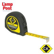 CK Tools T3442 softtech Cinta Métrica - 3m 5m 7.5m - Elige Tu Tamaño