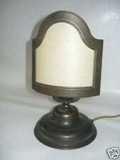 Lámpara de mesa ABAT-JOUR de latón pulido e VENTILADOR