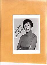 Carol Burnett-signed photo-15 c - coa