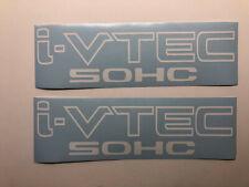 """ i-VTEC DOHC"" (PAIR)   VINYL DECAL STICKER CAR, TRUCK, WINDOW"