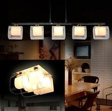 plafonnier de la Lumière Pendentif 8745 CHROME réglable en hauteur verre chaude