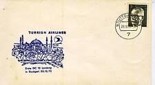LETTER / LETTRE AVION / TURKISH ALLEMAGNE STUTTGART 1972