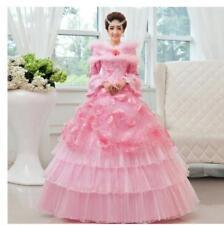 Hot Chic Retro Womens Warm Slim Long Sleeve Wedding Dress/dresses Ball Gown W634