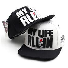 Unisex Mens Womens My Life All In Casino Snapback Baseball Cap Hip-hop Hats