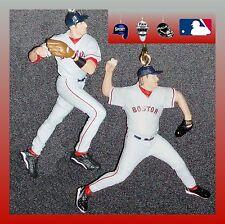 MLB BOSTON RED SOX-2 FIGURES FAN PULLS-SCHILLING/GARCIAPARRA OR MARTINEZ/RAMIREZ