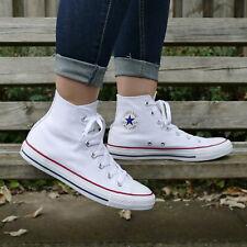Converse Chucks All Star Hi M7650C White Canvas Schuhe Sneaker Unisex Weiß