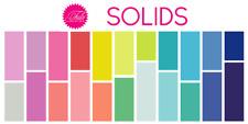 Free Spirit Tula Pink SOLIDS ~ Designer Essentials Cotton Solid ~ All Stars