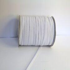 Elastique Plat Couture 5mm Blanc :  x 5 Mètre ou x 10 Mètres