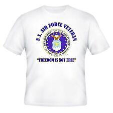 U.S.AIR FORCE FREEDOM & VIETNAM AIR FORCE VETERAN UNIT & OPERATION 2-SIDED SHIRT