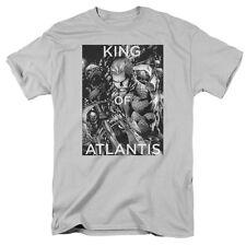 Aquaman King Of Atlantis Licensed Men's Graphic Tee Shirt Sm-5Xl