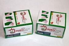 Panini em euro 2008 08 – 2 x display box verde Green sealed/embalaje original rare Shiny!