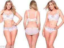 Curvy Kate - Romance, White/China Blue Balcony Bra, Shorts, Thong