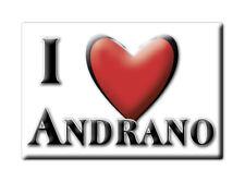 CALAMITA PUGLIA ITALIA FRIDGE MAGNET MAGNETE SOUVENIR I LOVE ANDRANO (LE)