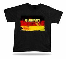 T-shirt Bandiera Germania T-Shirt Tee Top CITY MAP Bundesadler Aquila becco souvenir