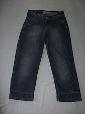 """H&M """"FIT & LOYAL"""" Capri Jeans Blau W27 **TOP**"""