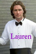 NEW RALPH LAUREN 100% COTTON Wing Tuxedo Tux Shirt FREE 18K LINKS FRENCH CUFFS
