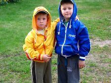 Niños Windbreaker Azul/Blanco Niñas 140-164 chaqueta rompevientos Cazadora