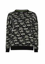 Primark Femme Batman Nightwear Pull Noir Sweat Shirt Taille UK 6-20 BNWT