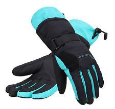 New Women Touch Screen Ski Mittens Full Finger Waterproof Winter Sports Gloves